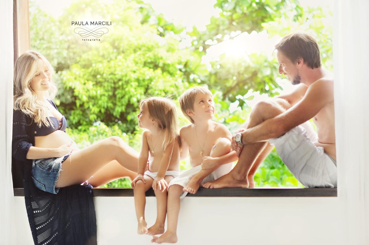 ensaio família na praia
